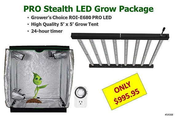 Pro Stealth LED Grow Light - Tent 995 20