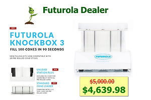 Futurola Cone Filling System KnockBox II