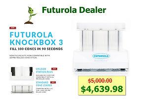 Futurola Cone Filling System KnockBox II