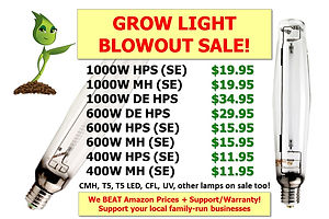 Grow Light Blowout Sale at GrowBIGogh