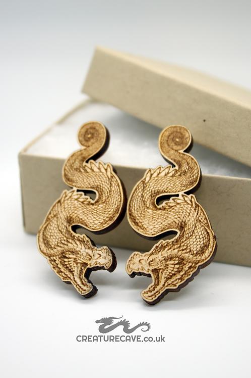 Hissing Dragon Earrings
