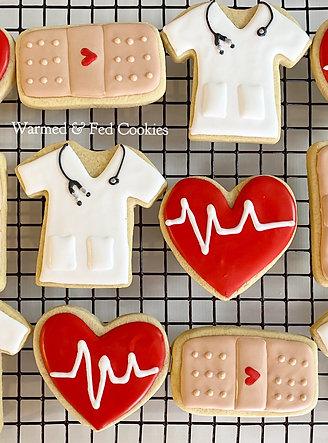 Nurse Sugar Cookies