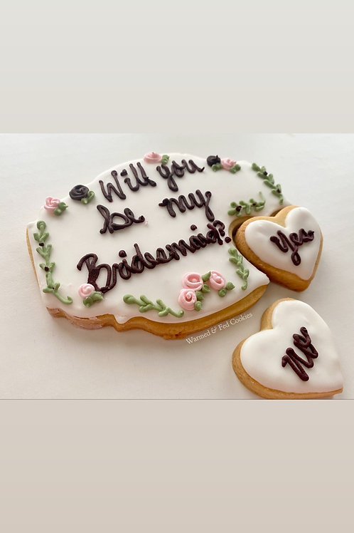 Wedding Party Proposal Cookie Gift Set