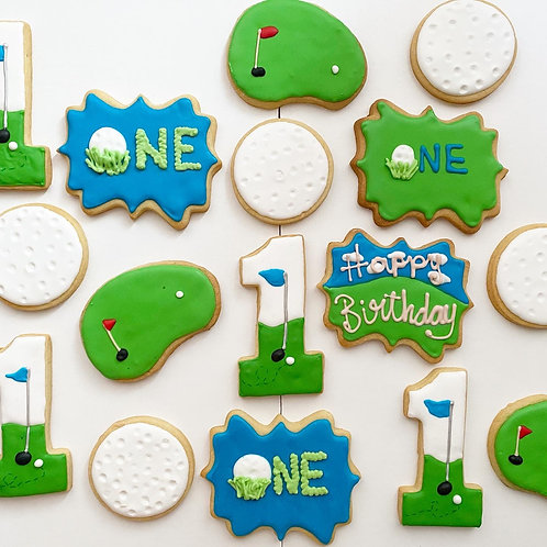 Hole-in-One Birthday Cookies