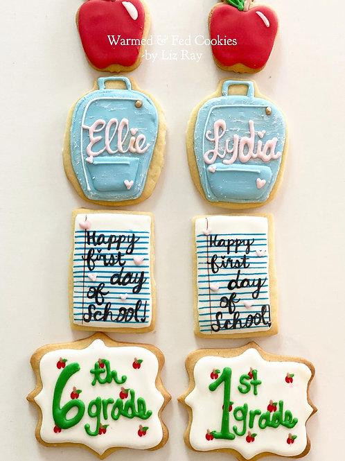 Back-to-School Sugar Cookies Gift