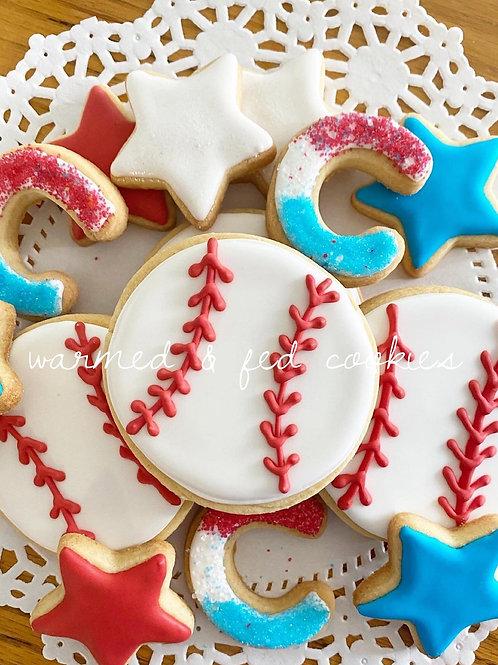 All Star Cookie 3 dozen Tray
