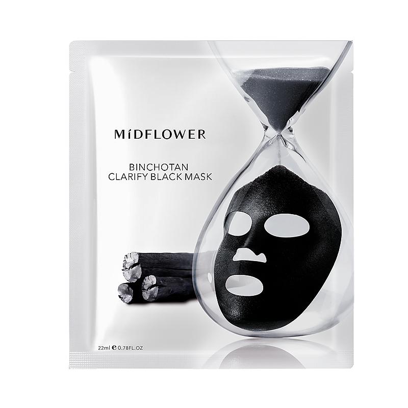 Binchōtan Clarify Black Mask