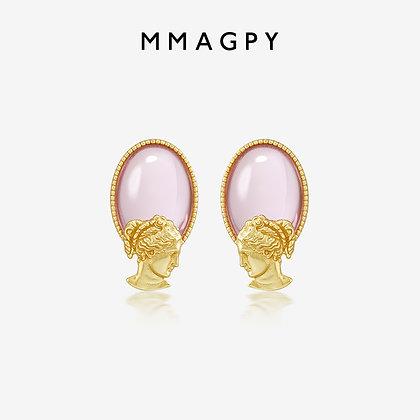 God of Love Earrings/Ear Clips