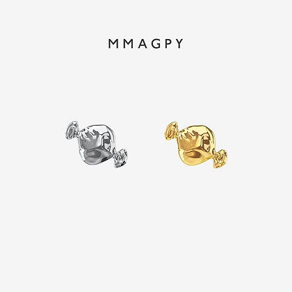 Sugar Rush Earring - Silver, Gold | 925 Silver Plated 18K Gold