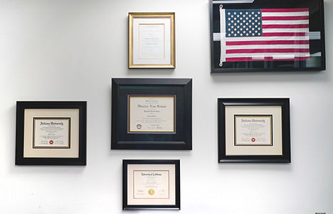 Lara Law Office Certificates