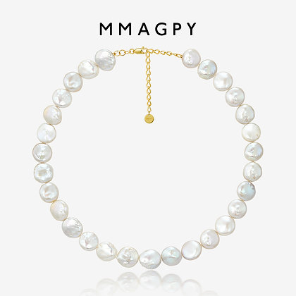 Irregular Pearl Necklace