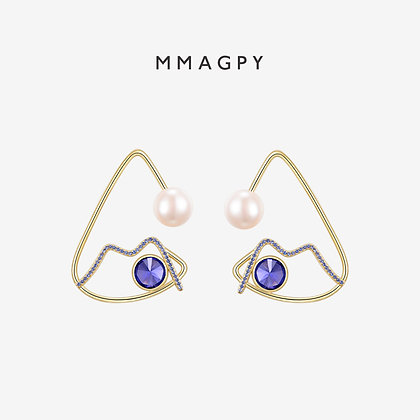 Miro Earrings | 925 Silver Plated 18K Gold