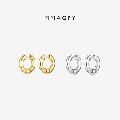 The Wheel of Fortune Earrings | 925 Silver Plated 18K Gold