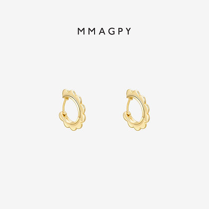 Lady Grace Mini Earrings | 925 Silver Plated 18K Gold