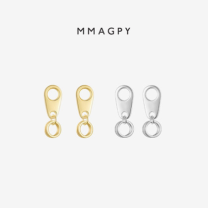 The Magician Earrings | 925 Silver Plated 18K Gold