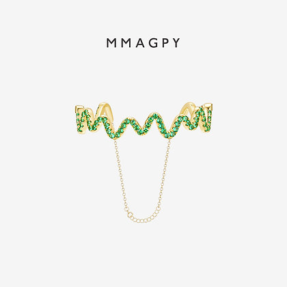 Loop de Loopy Bracelet | 925 Silver Plated 18K Gold