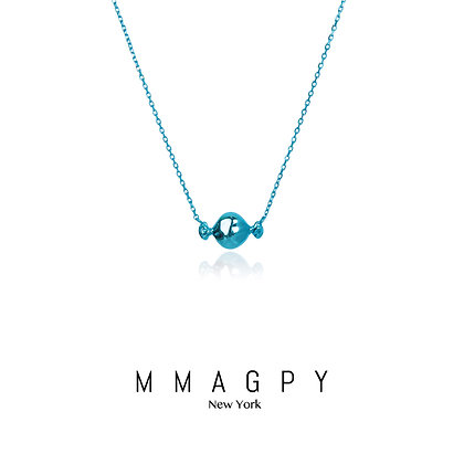 Sugar Rush Necklace/Blue
