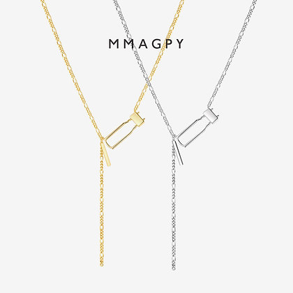 The Emperor Necklace | 925 Silver Plated 18K Gold