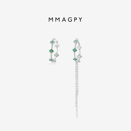 Poetry of Hyacinth Earrings | 925 Silver Plated 18K Gold