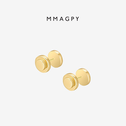 Strength Earrings | 925 Silver Plated 18K Gold