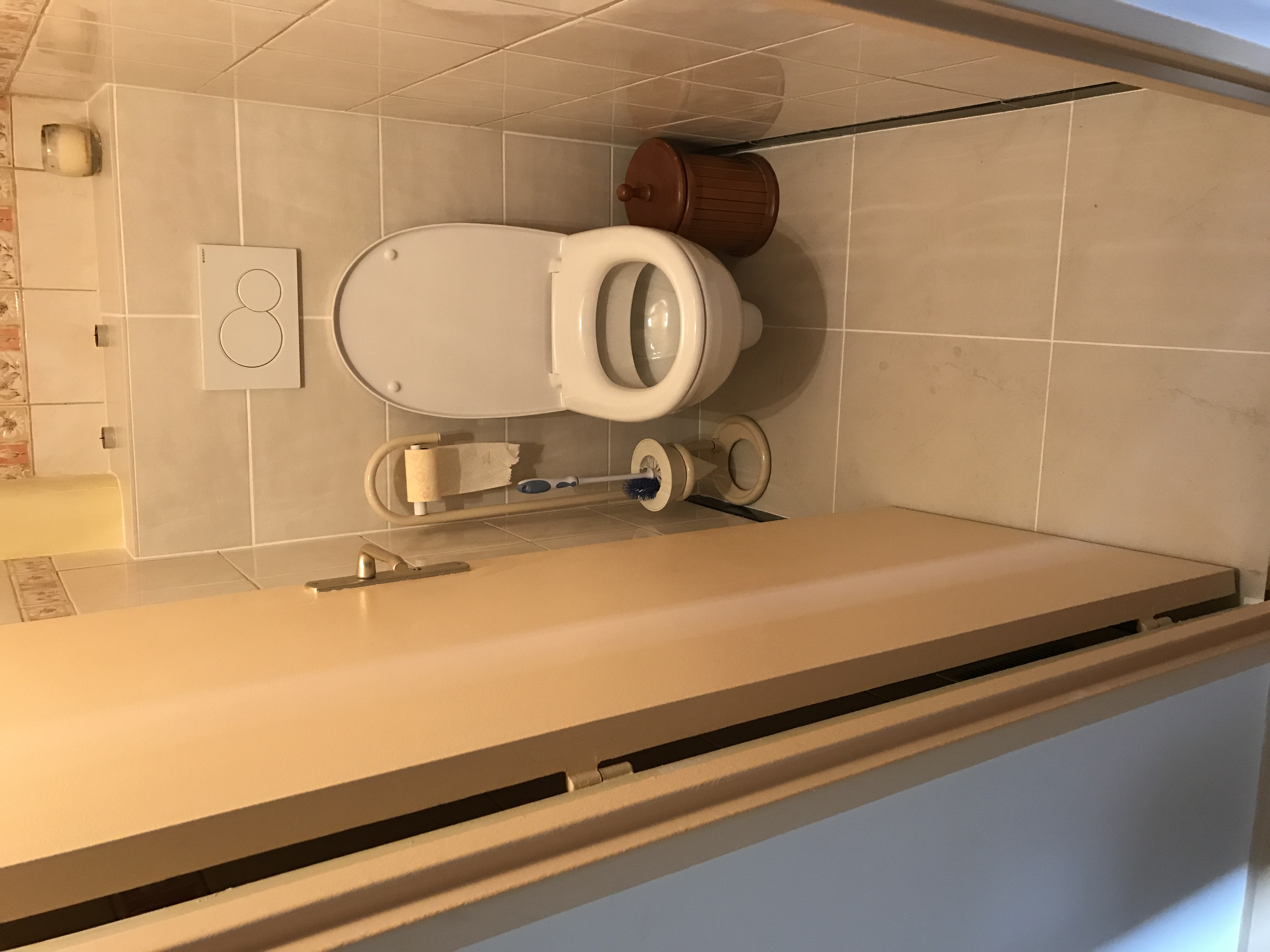 Remplacer WC par WC suspendu