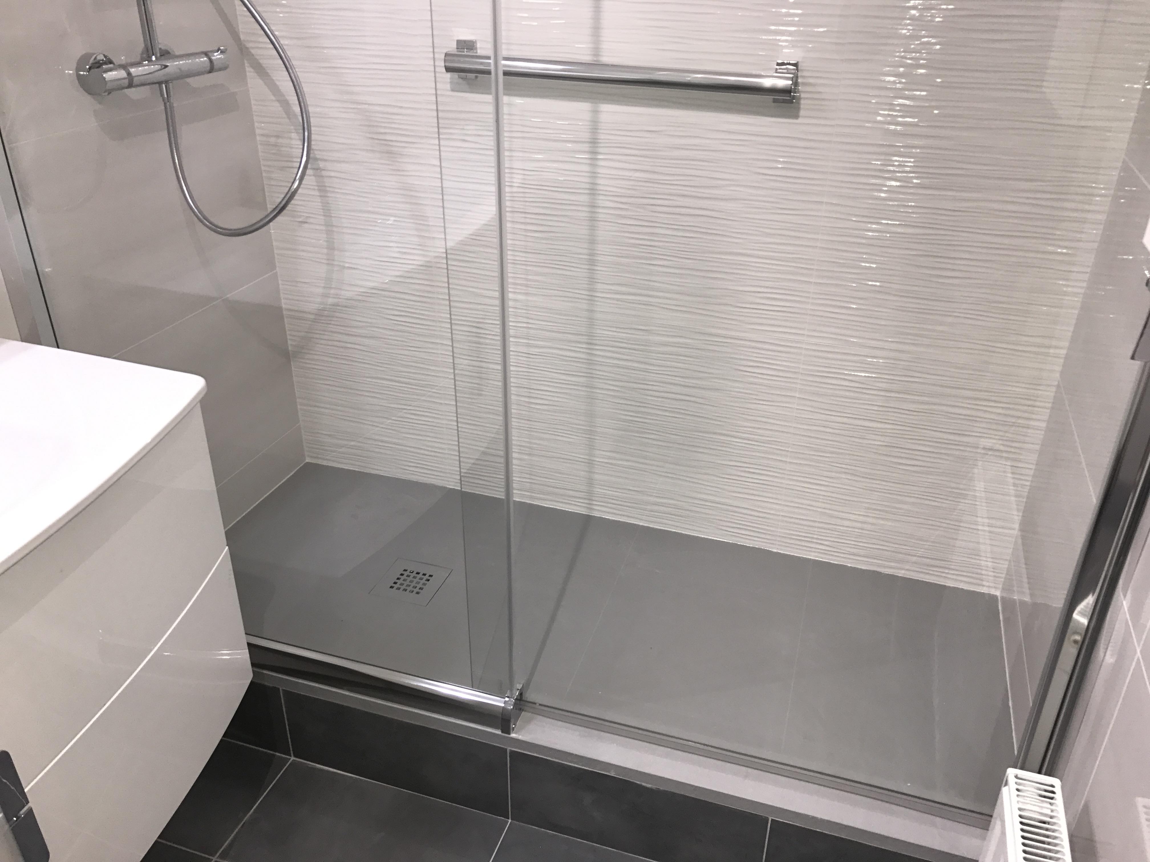 Remplacement baignoire par douche