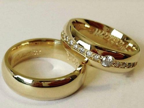 Aliança de Casamento BMA-828