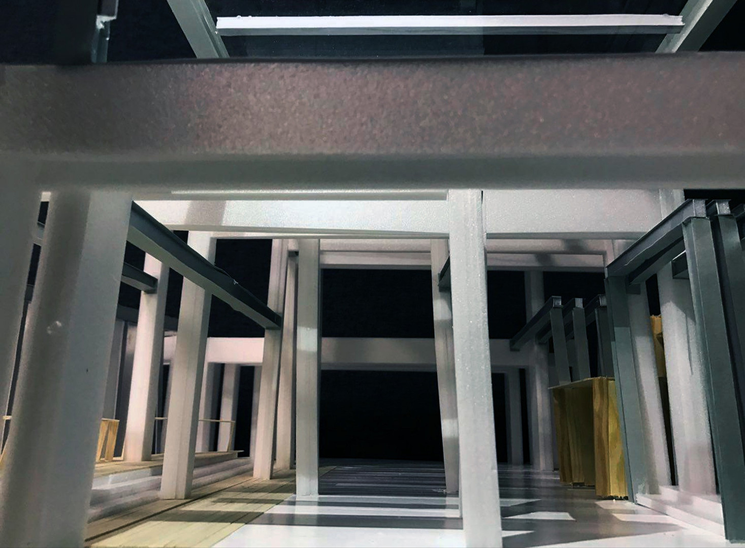 Museum Space Construction Study Model