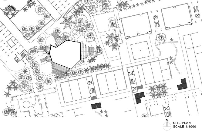 Museum Space Site Plan