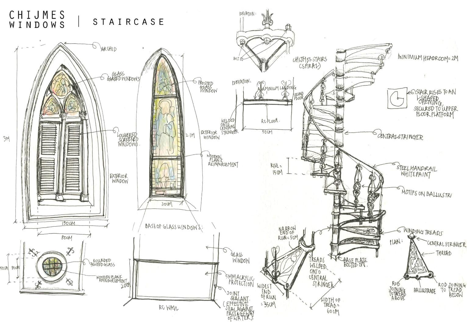 URBAN SKETCH 02Construction Details, CHIJMES