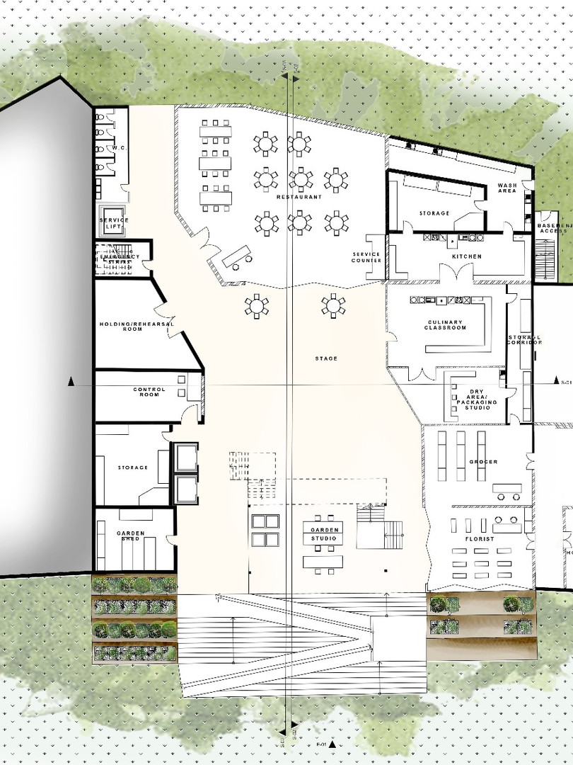 Coalescence First Floor Plan