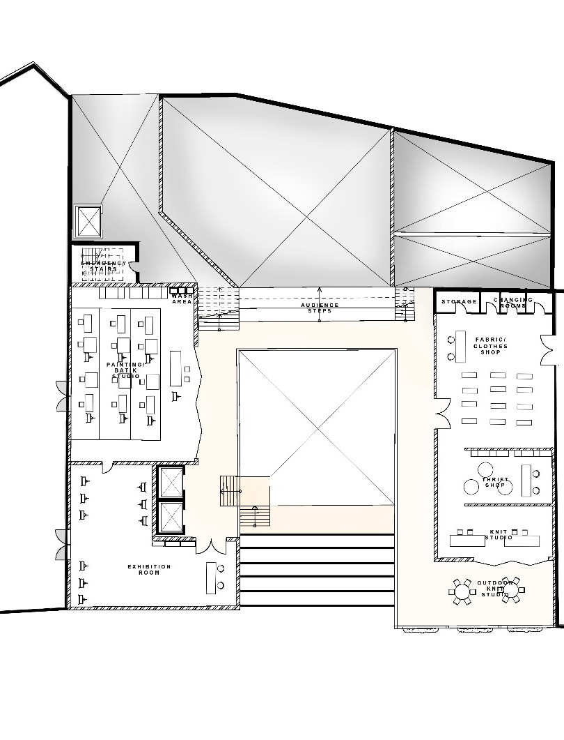 Coalescence Second Floor Plan