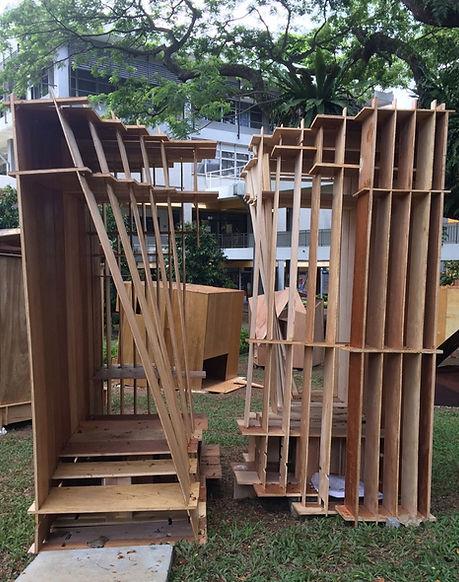 Plywood Box Entrance 1