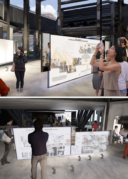 Museum Space Interior Perspectives