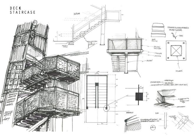 URBAN SKETCH 02Construction Details, Deck