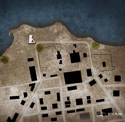 Peace Pavilion Site Plan
