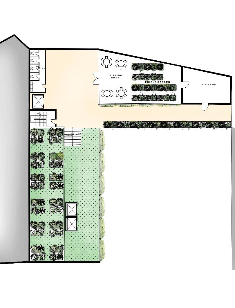 Coalescence Fourth Floor Plan