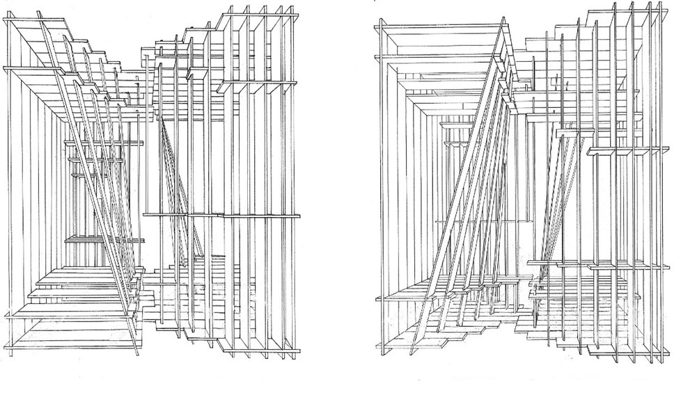 Plywood Box Elevation Drawing