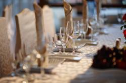 Table Set Up by Brandon Johnson