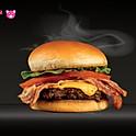 Single Bacon Cheeseburger