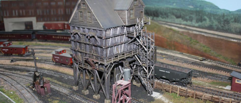 Assiniboia Yard coal dock