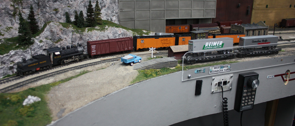 West end switcher at work