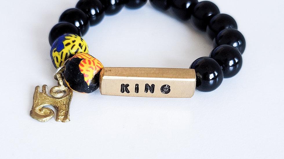 KING African Bead Bracelet