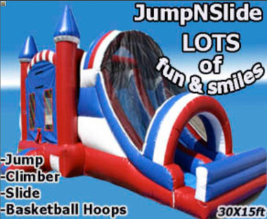 Jump and slide Combo