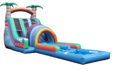 40ft Water slide with double slipNslide