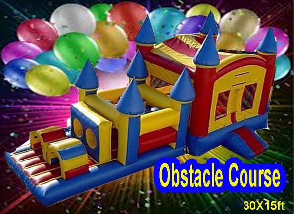 30Ft Obstacle Course