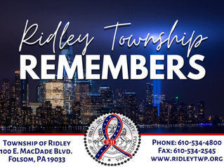 Ridley Township Remembers 9/11