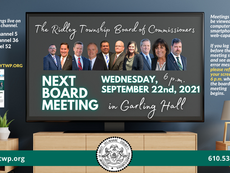 September Commissioners Meeting