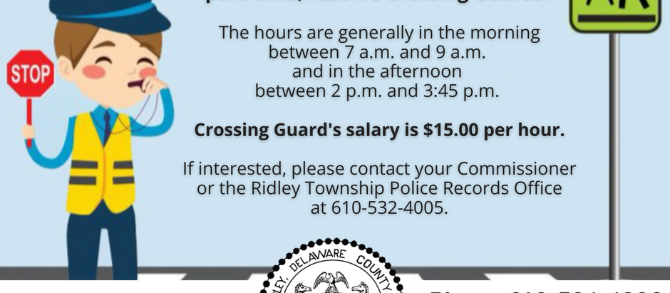 ✋🛑 Crossing Guards Needed!