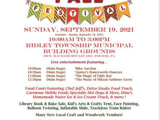 Ridley Township Fall Festival